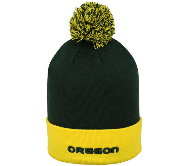 Ducks Retro Pom NCAA Beanie - And Still