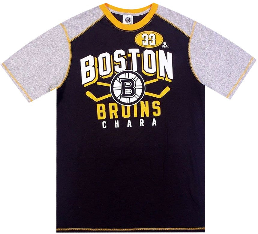 Bruins Retro NHL Raglan Shirt