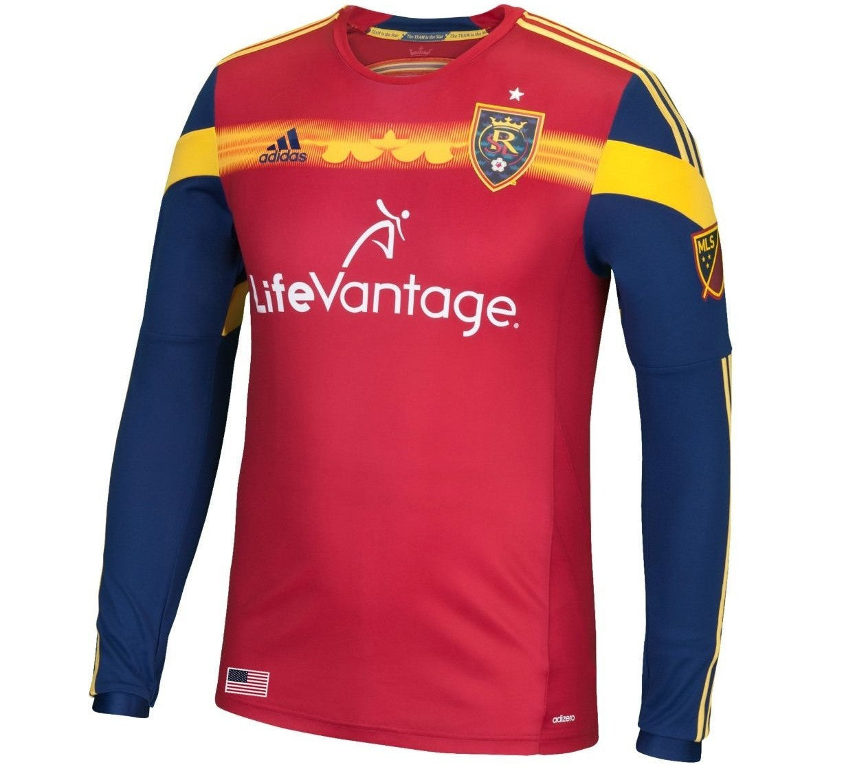 more photos 8781f 3dcc1 Real Salt Lake Authentic Jersey
