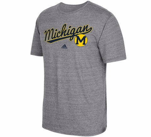 Wolverines Tri Blend Retro Shirt