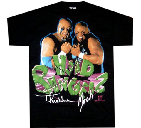 Head Banger WWF 90's Shirt