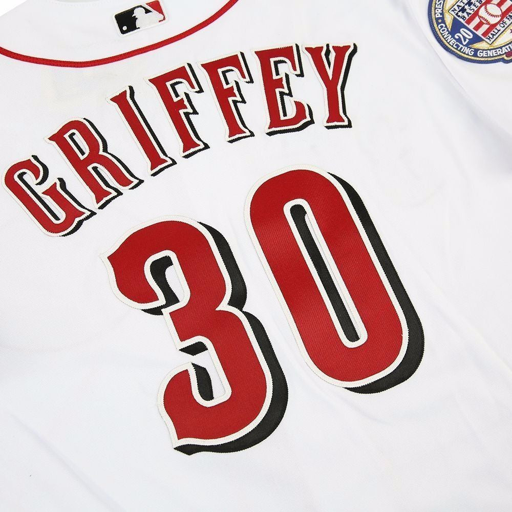 the best attitude dc020 2fe19 Ken Griffey Jr. Authentic Jersey Reds Mariners Throwback MLB ...