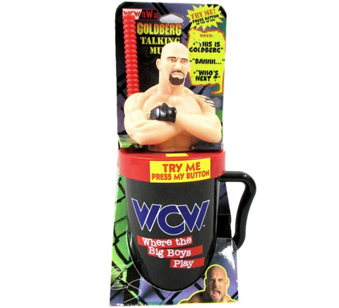 Goldberg WCW Drinking Mug