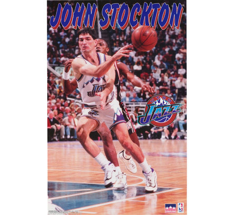 John Stockton Vintage Poster - And Still
