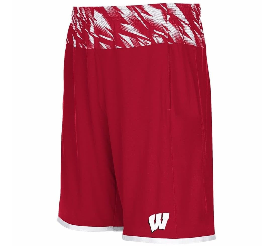 Badgers Retro NCAA Shorts