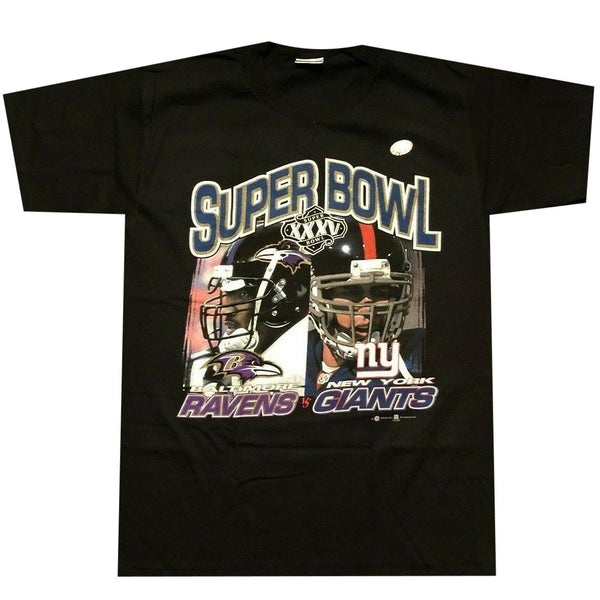 Ravens vs Giants Super Bowl T-Shirt