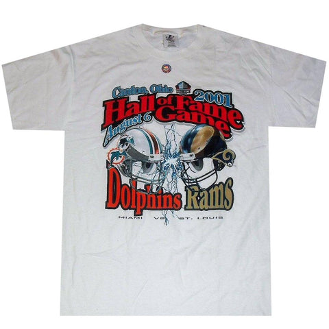Ram vs Dolphins Hall Fame Game 2001 Shirt