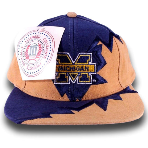 Michigan Vintage Snapback Hat