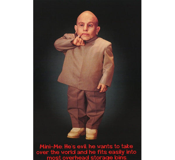 Mini Me Austin Powers Poster