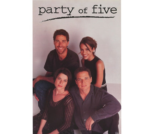 Party of Five Vintage Poster