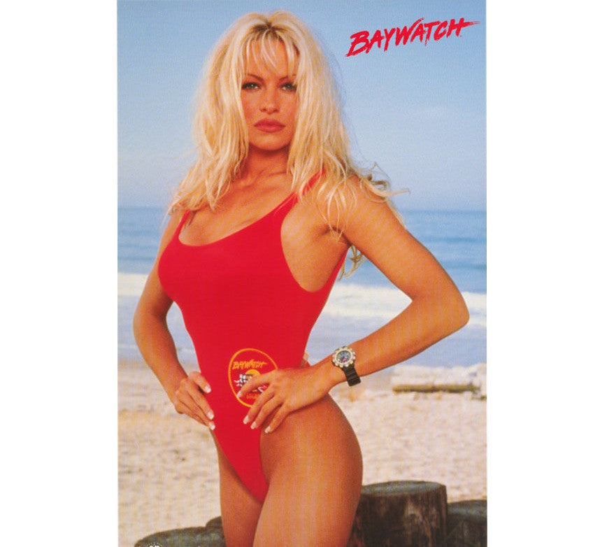 Pamela Anderson 90's Poster