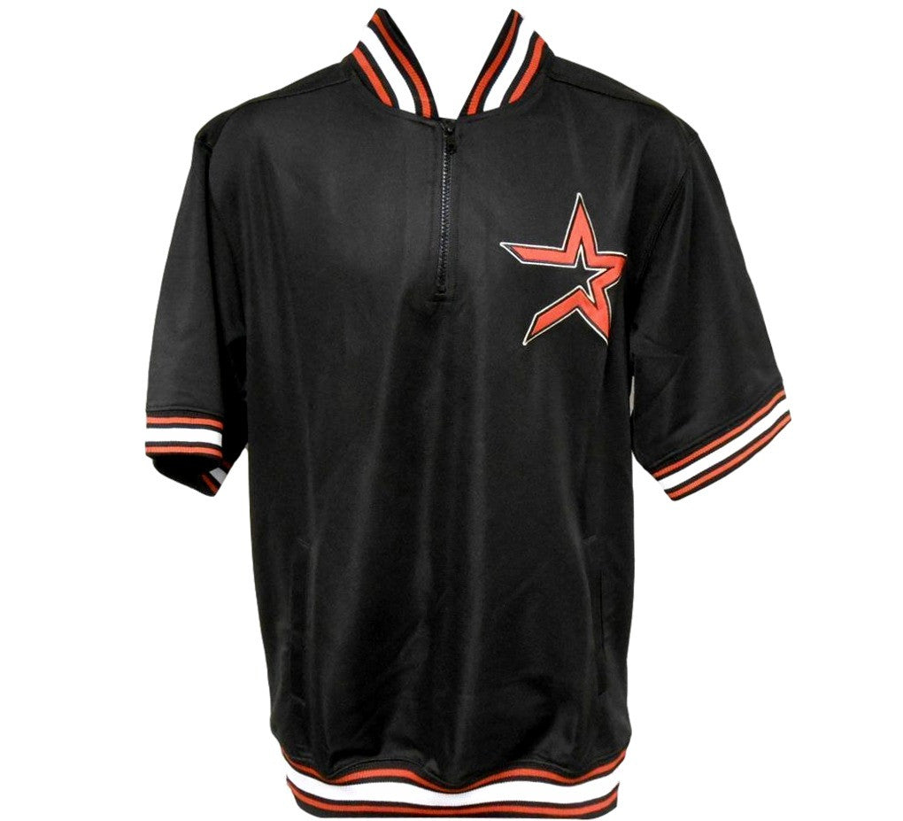 Astros Retro 1/4 Zip Pullover - And Still