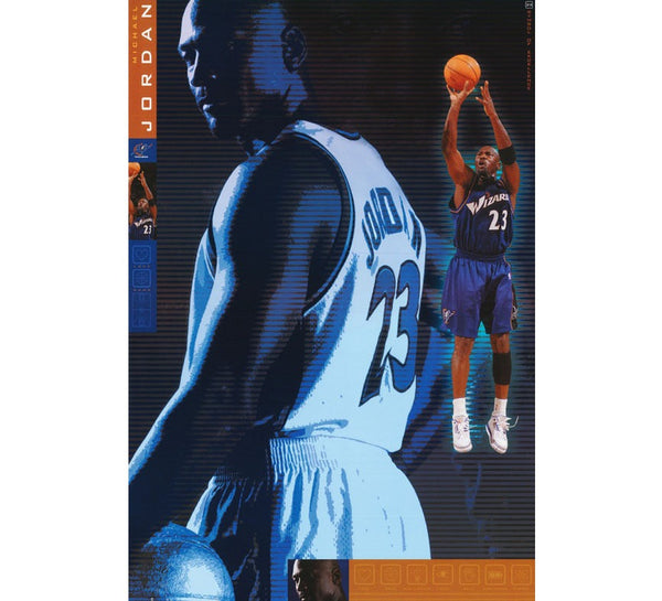 Michael Jordan Wizards Poster - And Still