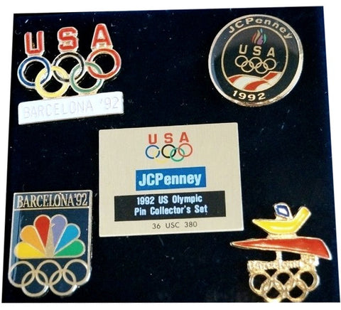 1992 Olympic USA Pin Set (5)