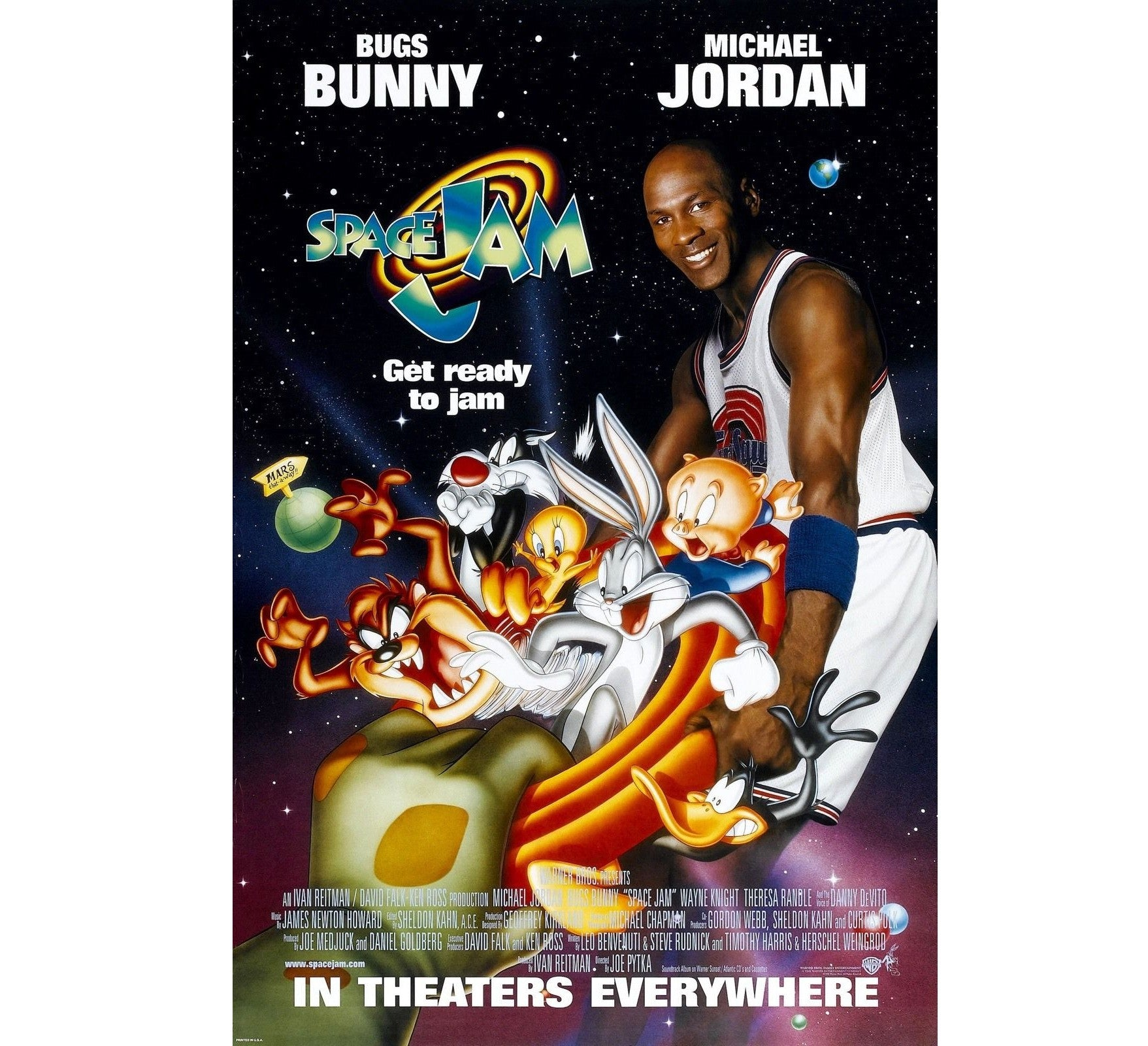 Space Jam Original Movie Poster