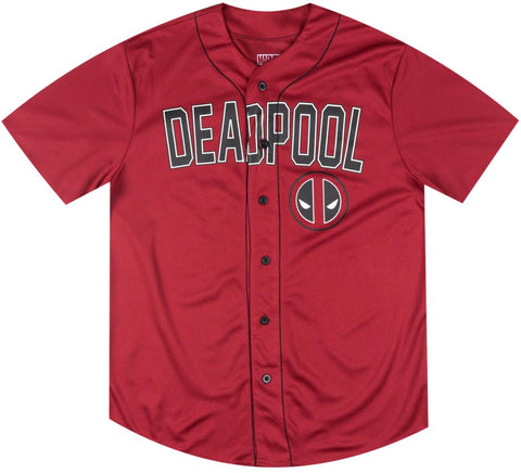 Deadpool Retro Baseball Jersey