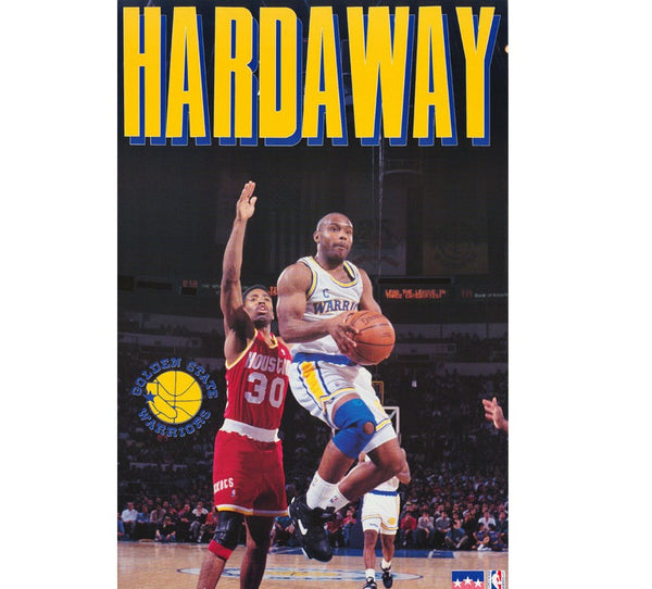 Tim Hardaway Warriors Poster