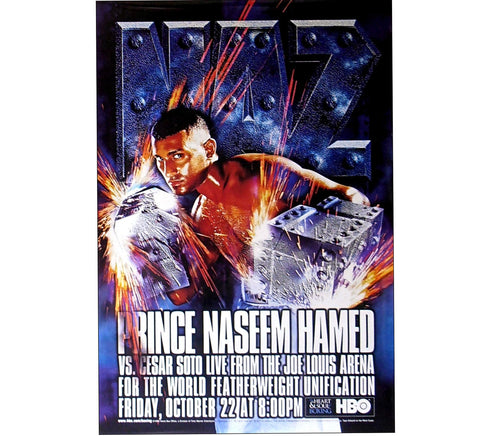 Prince Naseem Fight Poster