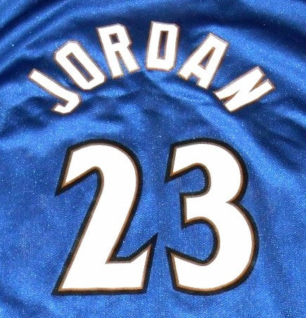 Michael Jordan Wizards Jersey - And Still