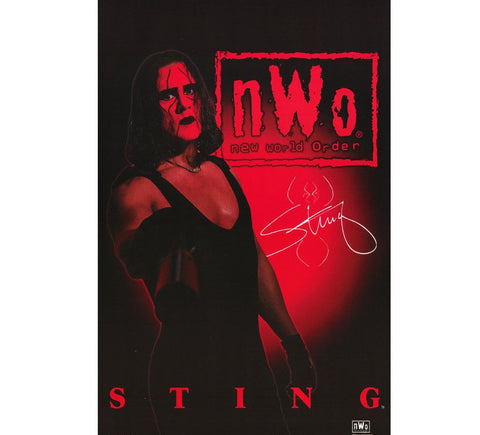 Sting Vintage WCW Poster