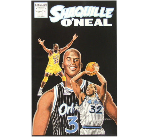 Shaquille Vintage Comic Book