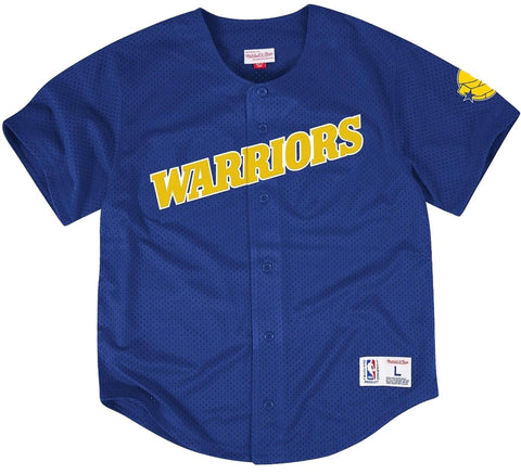 Warriors Retro Baseball Jersey