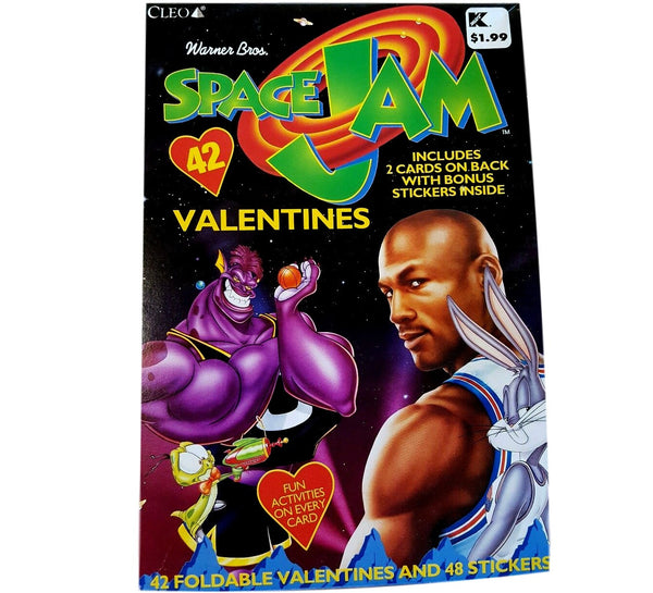 Space Jam Valentines 90's Book