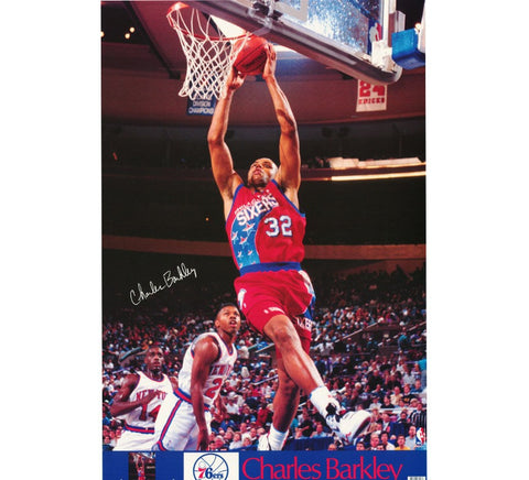 Charles Barkley 76ers Poster - And Still