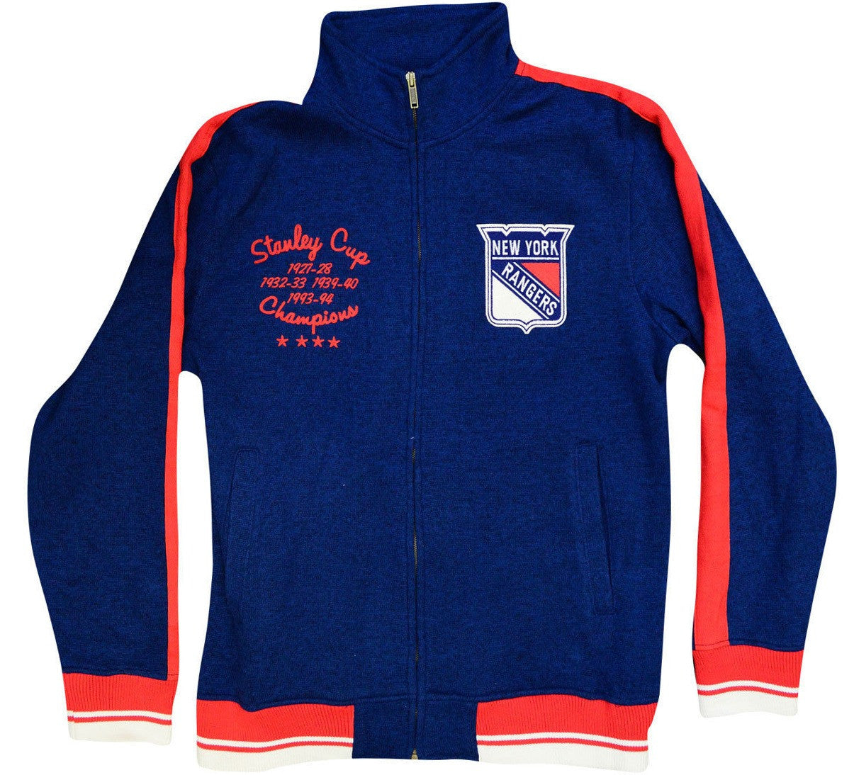 Rangers Retro CCM Zip Up Jacket
