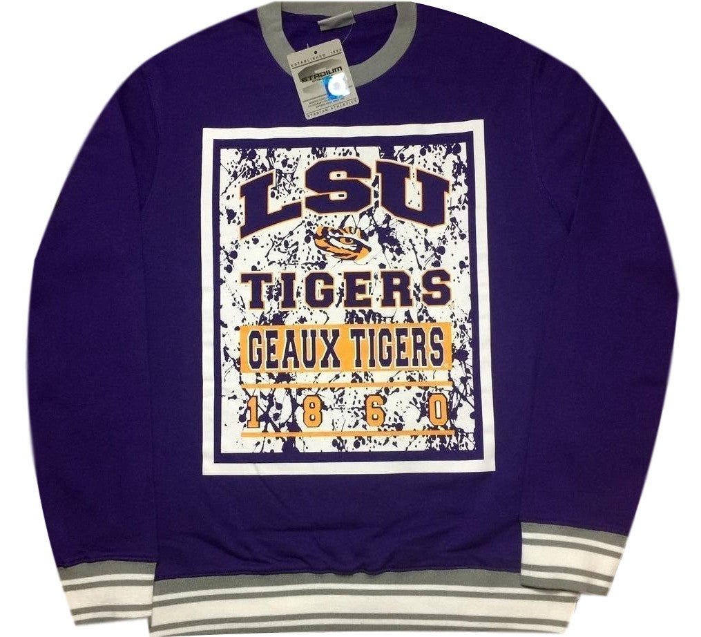 Tigers Retro College Sweatshirt