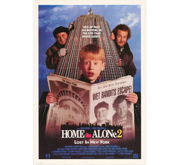Home Alone 2 Vintage Poster