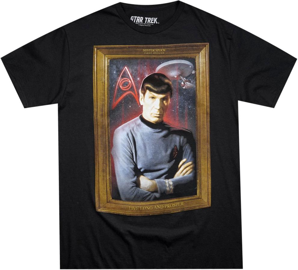 Spock Retro Star Trek Shirt