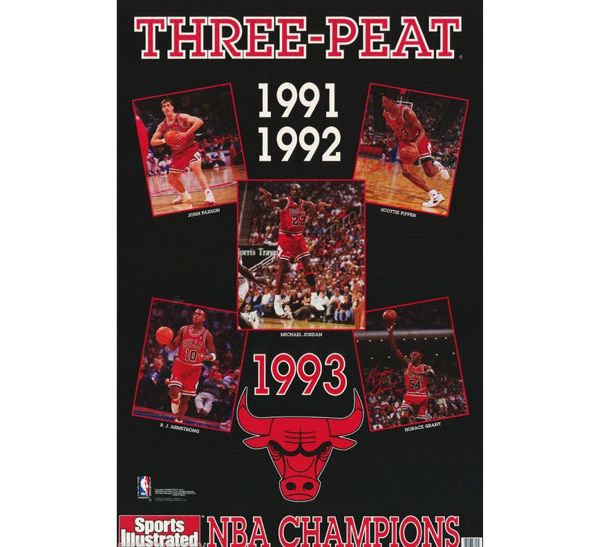 Chicago Bulls Vintage Poster - And Still