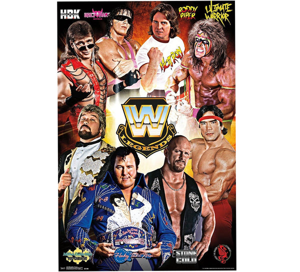 WWE Retro Legends Poster