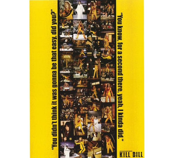 Kill Bill Vintage Movie Poster