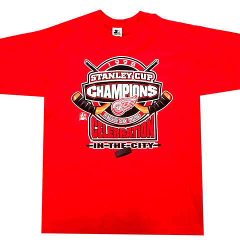 Red Wings NHL Champs Shirt