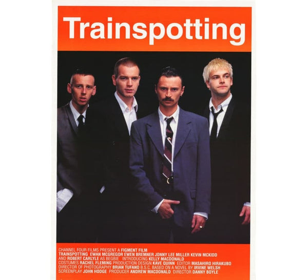 Trainspotting Vintage Poster