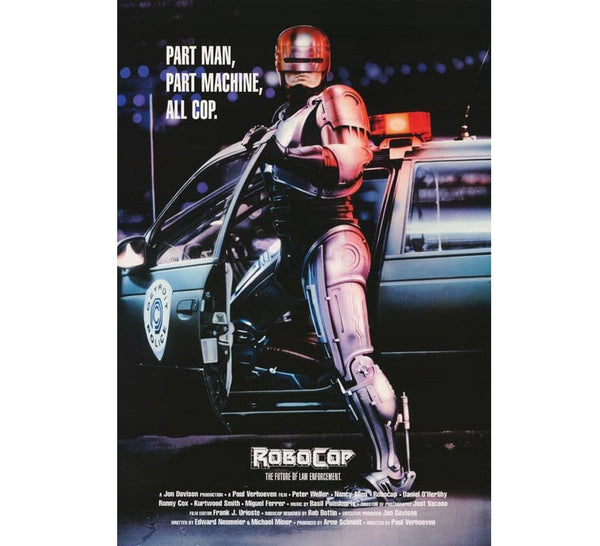 Robocop Vintage Movie Poster