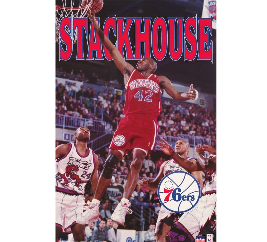 Jerry Stackhouse Vintage Poster