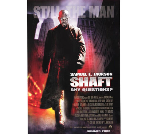 Shaft Vintage Movie Poster