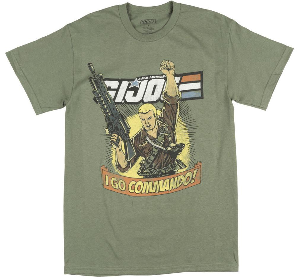 GI Joe Vintage TV Show Shirt