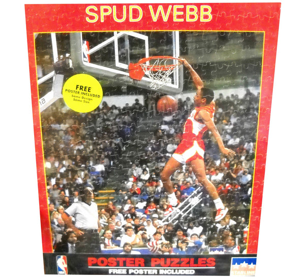 Spud Webb Puzzle & Poster