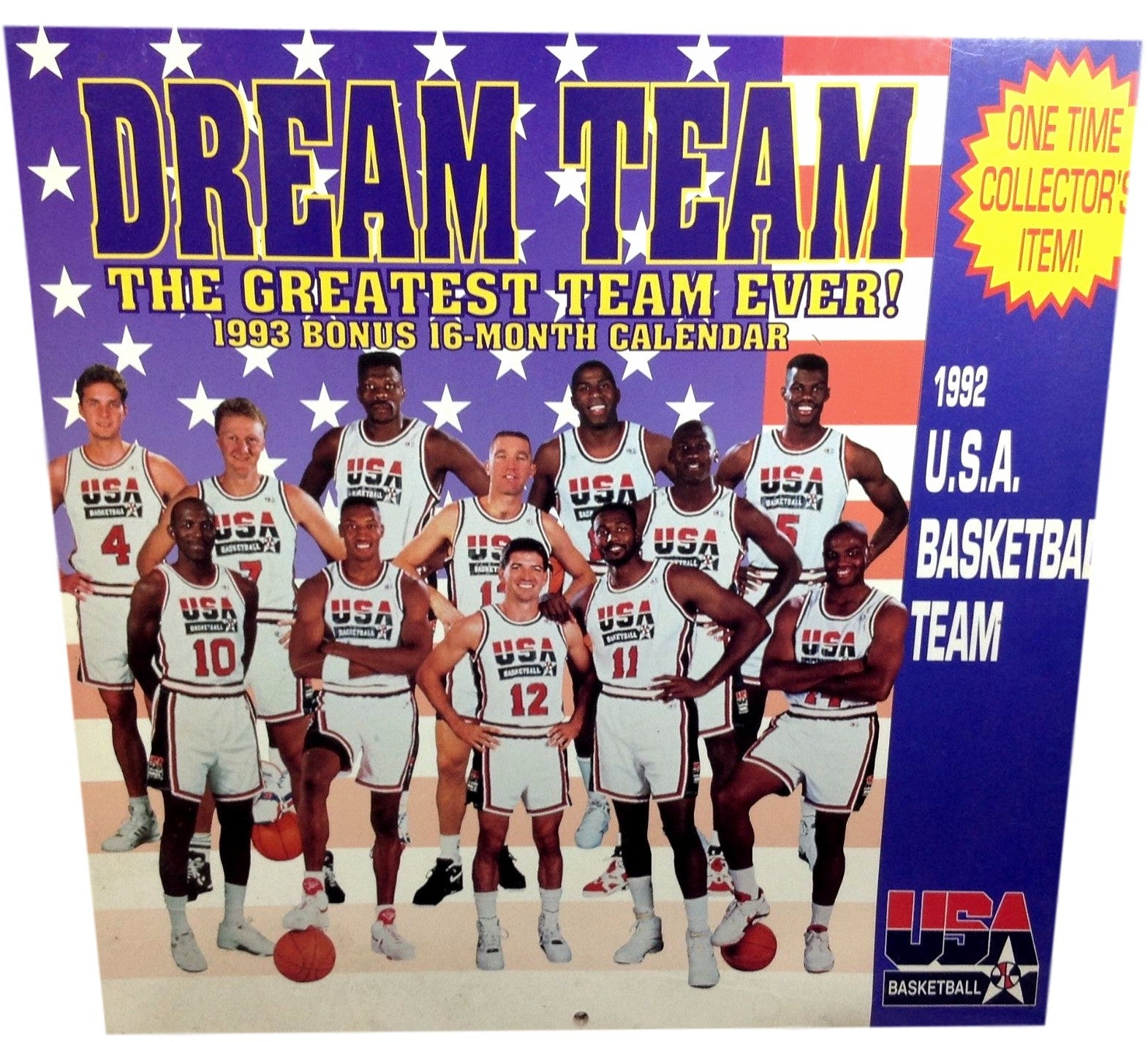 Dream Team Vintage Calendar - And Still