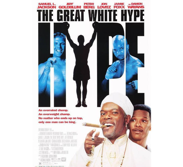 Great White Hype 90's Poster