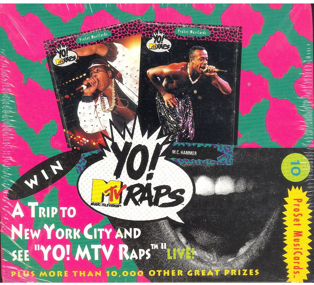 Yo MTV Raps Series1(36 Packs)