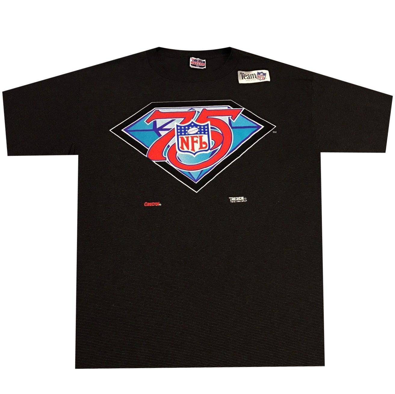 Vintage NFL 75th Anniversary Shirt