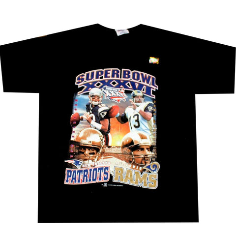 571ed43fc Rams vs Patriots Super Bowl Shirt