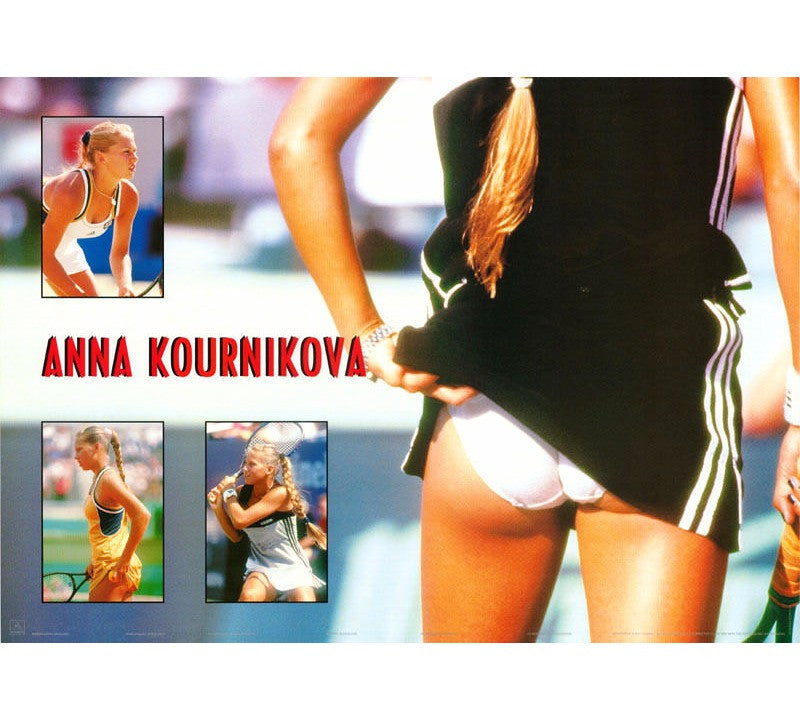 Anna Kournikova Vintage Poster - And Still