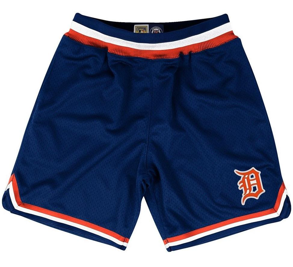 Tigers Retro MLB M&N Shorts