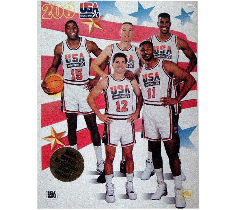 new product bbac9 a4aa6 1992 USA Dream Team Puzzle